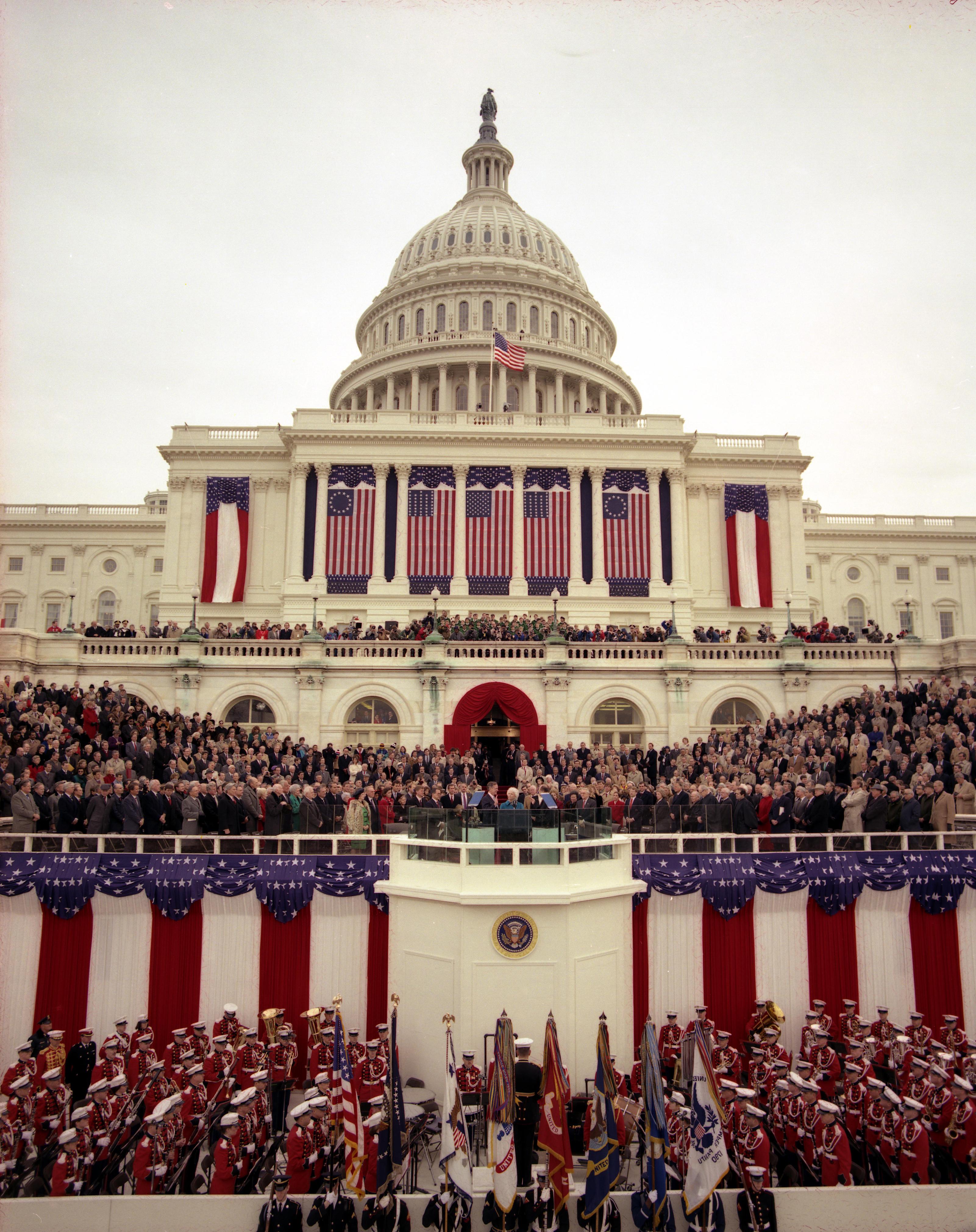 George H.W. Bush Presidential Inauguration