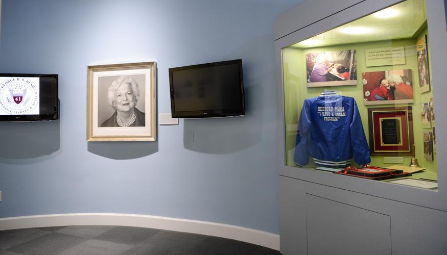 Barbara Bush Exhibit