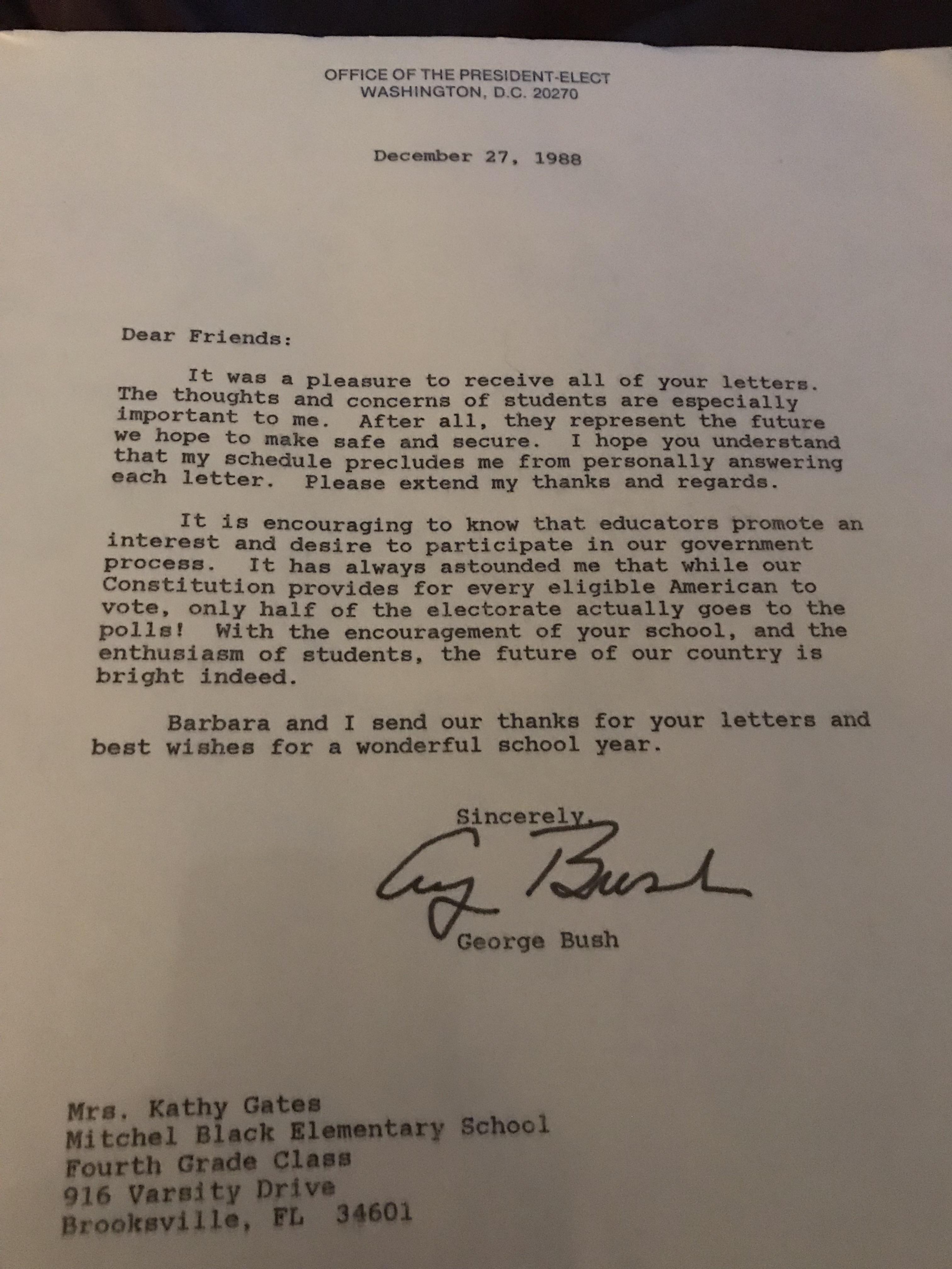 George H.W. Bush Library Foundation 19da546865b